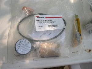 Un kit de mise à la terre d'un coaxial